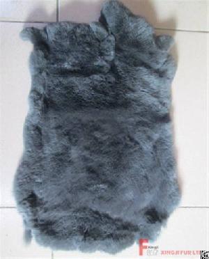 Dyed Rex Rabbit Fur Skin