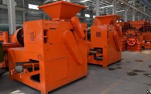 Charcoal Coke Carbon Powder Press Machine Coal Briquette Plant Briquetting Press Machine
