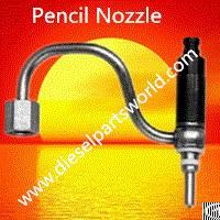fuel injector pencil nozzle 36497 john deere re520785 brown