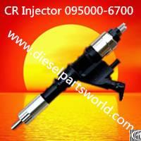 inyector para sistema rail 095000 6700