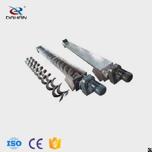 Small Stainless Steel Screw Conveyor With Hanger Bearing