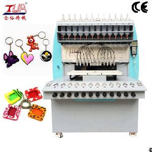 pvc promotional gift machine