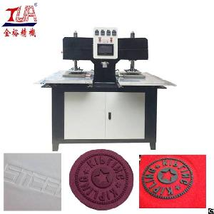 multi clothing leather embossing machine