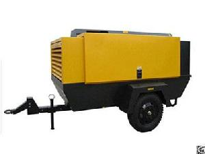 portable screw electric air compressor mobile supplied manufacture