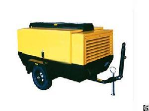 electric portable screw air compressor 290cfm flow