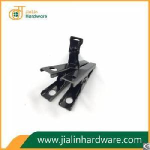 anti tarnish surface dark nickle plate 55mm metal clip