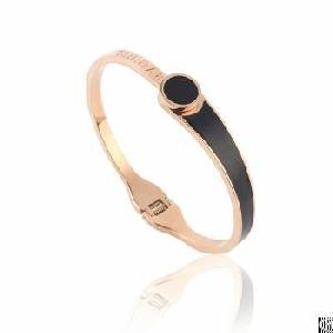 factory enamel fashion gold bangles