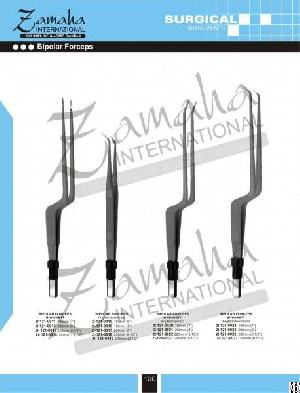 bayonet electrosurgical forceps bipolar forcep disposbale surgery