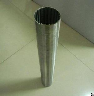 Johnson Durable Wedge Wire Screen Aisi 304 , 316l For Oil Well Drilling