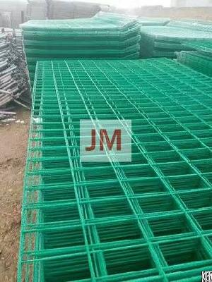 pvc coated airport wire mesh fencing supplier