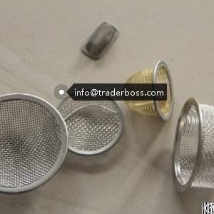 Custom Woven Wire Mesh Filter Disc / Circle Stainless Steel