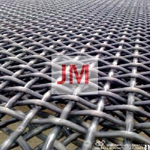 crimped stainless steel wire mesh galvanized surface treatment supplier