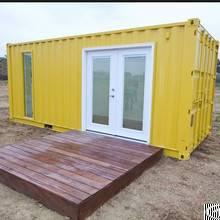 luxury prefab exterior home container