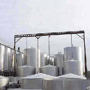 316l liquid storage tank id 2600 mm 50 m3