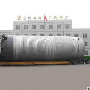 Ss304 Fermentation Tank, Dn4200, Gb150, Id 4200mm X 16260mm