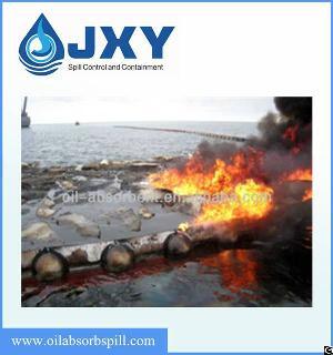Fireproofing Oil Spill Boom