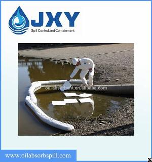 oil absorbent boom spill clean up