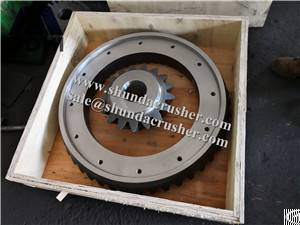 Hp Series Metso Pinion Gear Bevel Gear