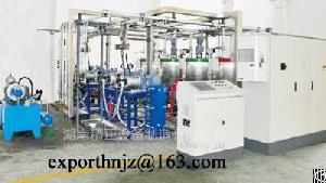 four component pressure foaming machine pu sandwich panel line