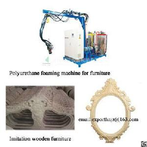 Pu Foaming Machine For Imitation Wooden Furniture