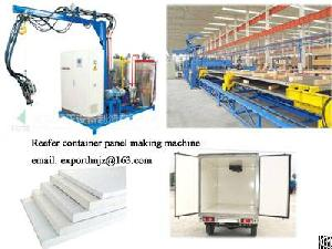 Reefer Container Panel Making Machine