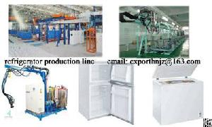 Refrigerator And Freezer Production Line