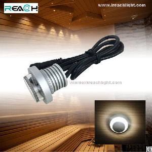 led anti glare spotlight 1w dc12v ip67 waterproof sauna ktv room restaurant villa decoration