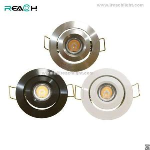 led puck light dc12v dimmable 3w kitchen showcase home ceiling exhibition