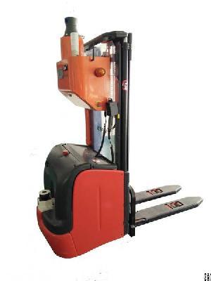 okagv laser guided vehicle forklift agv
