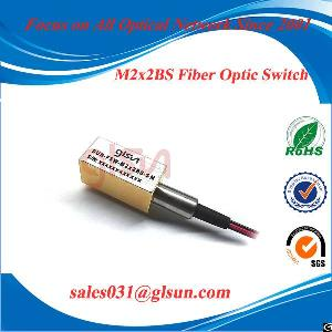 Glsun Mini Single-ended Fiber Optical Switch M1 1s Or M1 2s Or M2 2bs
