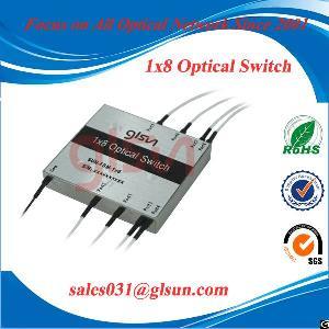 insertion loss 1x8 fiber optic switch