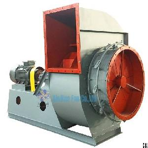 Zhoucun Power Plant Customer Design High Temperature Boiler Exhaust Fan Price