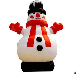 Outdoor Snowman Inflatable