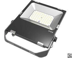 100w ultrathin led flood light smd chip 100pcs philips brightness 8000lm mw driver