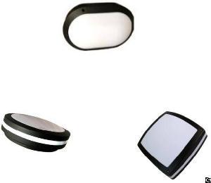 moisture proof led ceiling light outdoor bulkhead surface mounted round square oval shape aluminum