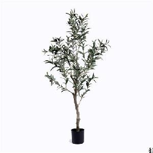 silk olive tree faux