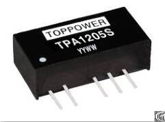 tpa0505sp 1w dc converters 5vin 5vout sc protection