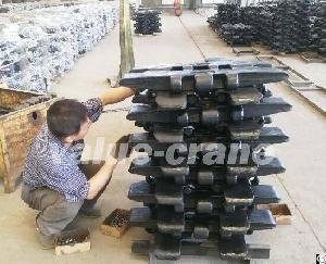 Heat-treated Track Pad For Sumitomo Sc700 Crawler Crane From Zhaohua