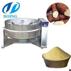 Large Capacity Delicious Cassava Garri Production Line