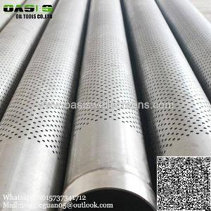 galvanized perforated pipe welded steel carbon