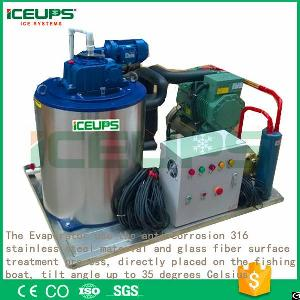 Seawater Ice Flake Maker Machine