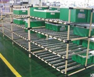 storage rack system pipe joint