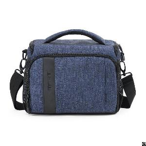 Compact Camera Shoulder Bag For Slr / Dslr With Waterproof Rain Cover