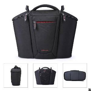 Dslr Gadget Bag Camera Equipment Shoulder Soft Padded Compact Case