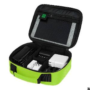 electronics travel organizer bag hard drive case usb phone cable charger