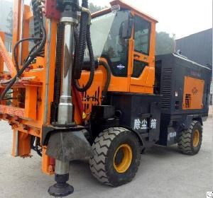 Sell Road Guardrail Installation Drilling Machine, Pile Driver