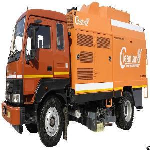 Model Vs Shakti 6000 Truck Mounted Sweeping Machine
