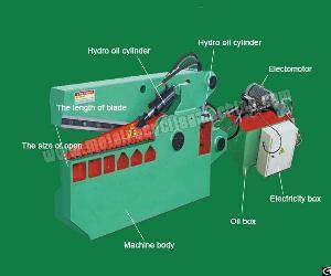 Alligator Shearing Machine