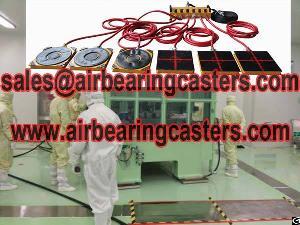 heavy duty air transporters preparation