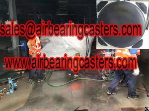modular air casters loads safety